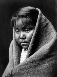 Navajo Child, C1904 by Edward S^ Curtis