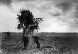 Navajo Dancer, c1905 by Edward S^ Curtis