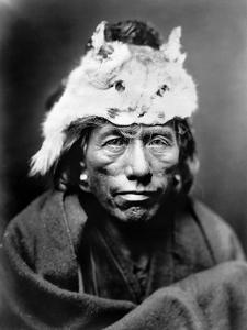 Navajo Man, C1905 by Edward S^ Curtis
