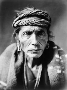 Navajo Man, C1905 by Edward S. Curtis