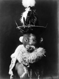 Navajo Mask, C1905 by Edward S^ Curtis