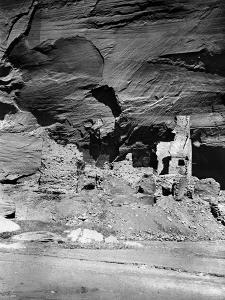 Navajo Ruins, C1907 by Edward S^ Curtis