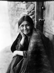 Navajo Woman, 1904 by Edward S^ Curtis