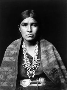 Navajo Woman, C1904 by Edward S^ Curtis