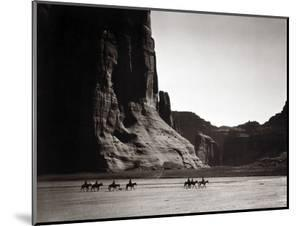 Navajos: Canyon De Chelly, 1904 by Edward S^ Curtis