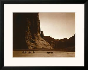 Navajos, Canyon De Chelly, c.1904 by Edward S^ Curtis