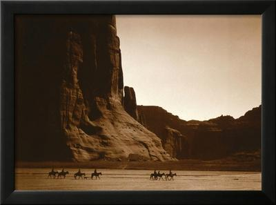 Navajos, Canyon De Chelly, c.1904