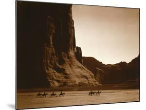 Navajos, Canyon De Chelly, c.1904 by Edward S. Curtis