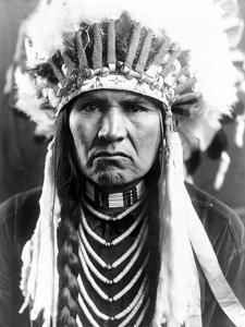 Nez Perce Native American by Edward S. Curtis