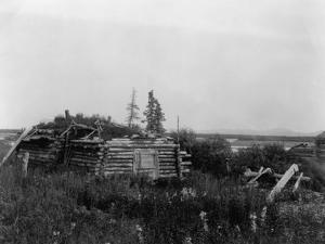 Noatak Home by Edward S^ Curtis