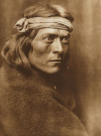 North American Indian, a Zuni Governor by Edward S. Curtis