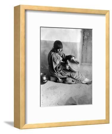 Pueblo Potter, c1905
