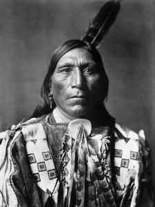 Sioux Man, C1907 by Edward S^ Curtis