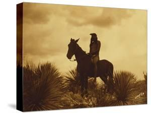 The Scout, Apache by Edward S. Curtis