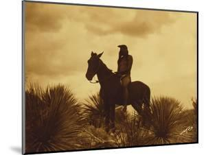 The Scout, Apache by Edward S Curtis