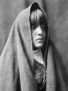 Tom Poqui, Tewa Woman by Edward S^ Curtis
