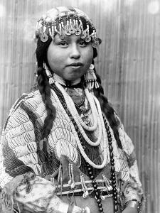 Wishram Bride, c1910 by Edward S^ Curtis
