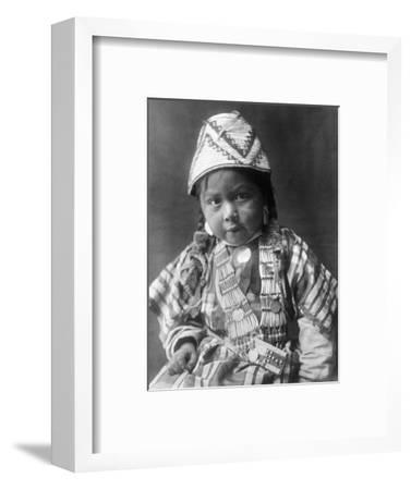 Wishram Girl, 1909