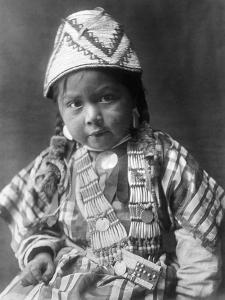 Wishram Girl, 1909 by Edward S^ Curtis