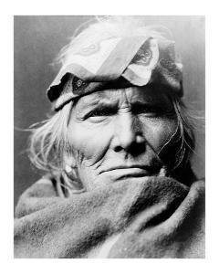 Zuni Elder by Edward S^ Curtis