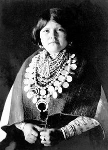 Zuni Ornaments by Edward S^ Curtis