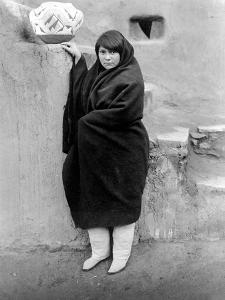 Zuni Woman, C1903 by Edward S^ Curtis