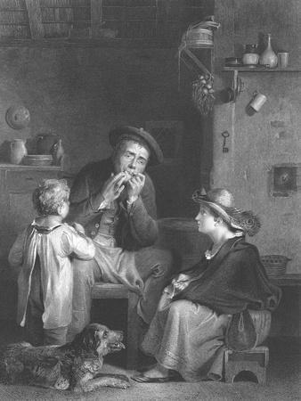 'The Jew's Harp', c1808