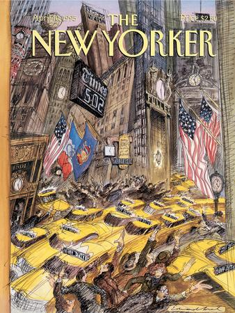 The New Yorker Cover - April 10, 1995