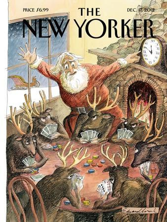 The New Yorker Cover - December 17, 2012