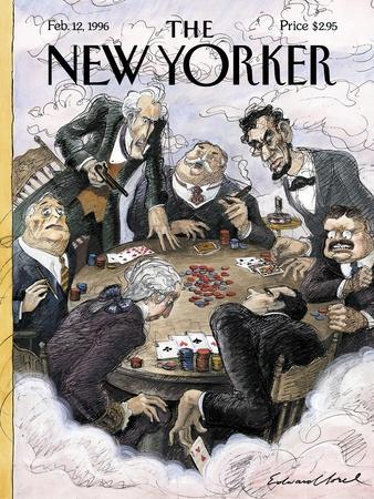 The New Yorker Cover - February 12, 1996