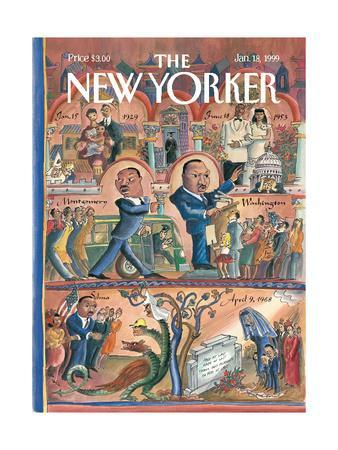The New Yorker Cover - January 18, 1999