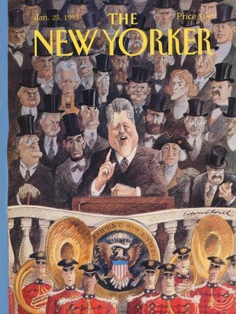 The New Yorker Cover - January 25, 1993