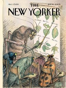 The New Yorker Cover - July 10, 2000 by Edward Sorel