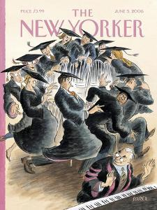 The New Yorker Cover - June 5, 2006 by Edward Sorel