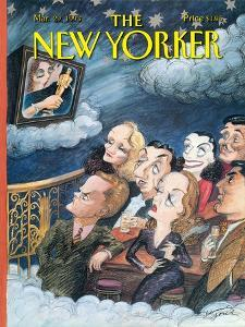 The New Yorker Cover - March 29, 1993 by Edward Sorel