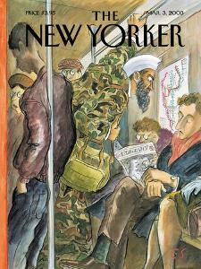 The New Yorker Cover - March 3, 2003 by Edward Sorel