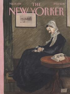 The New Yorker Cover - May 13, 1996 by Edward Sorel