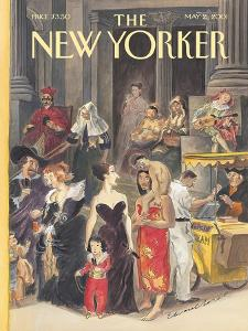 The New Yorker Cover - May 21, 2001 by Edward Sorel