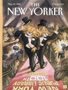 The New Yorker Cover - May 22, 1995 by Edward Sorel