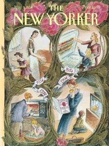 The New Yorker Cover - May 9, 1994 by Edward Sorel
