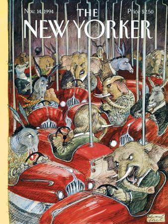 The New Yorker Cover - November 14, 1994