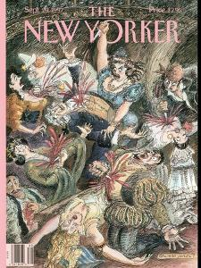 The New Yorker Cover - September 29, 1997 by Edward Sorel