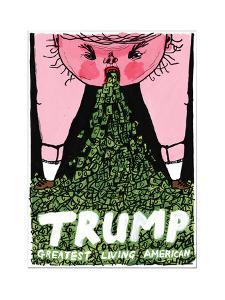 Donald Trump - Cartoon by Edward Steed