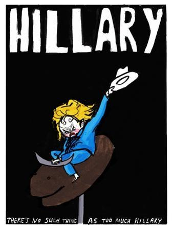 Hillary Clinton - Cartoon by Edward Steed