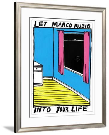 Marco Rubio - Cartoon by Edward Steed