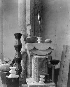 Brancusi's Studio, 1920 by Edward Steichen