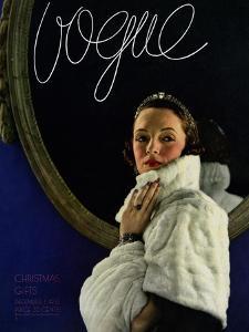 Vogue Cover - December 1933 by Edward Steichen