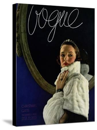 Vogue Cover - December 1933