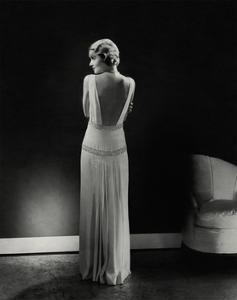 Vogue - January 1933 - Constance Bennett by Edward Steichen