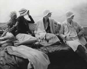 Vogue - July 1928 - Yachting by Edward Steichen